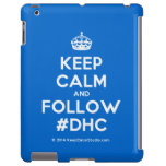 [Crown] keep calm and follow #dhc  iPad 2/3/4 Cases