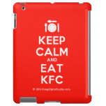 [Cutlery and plate] keep calm and eat kfc  iPad 2/3/4 Cases