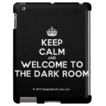 [Crown] keep calm and welcome to the dark room  iPad 2/3/4 Cases