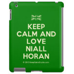[UK Flag] keep calm and love niall horan  iPad 2 3 4 Cases