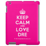 [Crown] keep calm and love dre  iPad 2/3/4 Cases