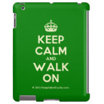 [Crown] keep calm and walk on  iPad 2/3/4 Cases