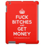 [Crown] fuck bitches and get money  iPad 2/3/4 Cases