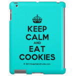 [Crown] keep calm and eat cookies  iPad 2/3/4 Cases