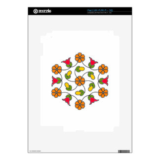 iPad 2 Skin-Flower Series#63 Decals For The iPad 2