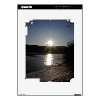 iPad 2 skin with photo of Yukon River