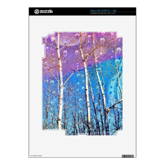 "IPad 2 Skin with print ""Promise Me Spring"""