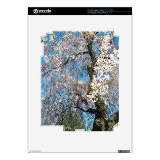 iPad 2 (Wi-Fi/Wi-Fi + 3G) Piel con el árbol florec Skins Para eliPad 2