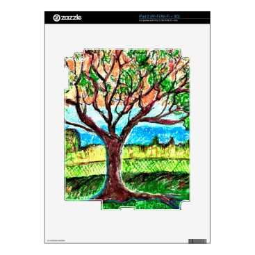 iPad 2 (Wi-Fi/Wi-Fi   3G) Skin with Tree Art