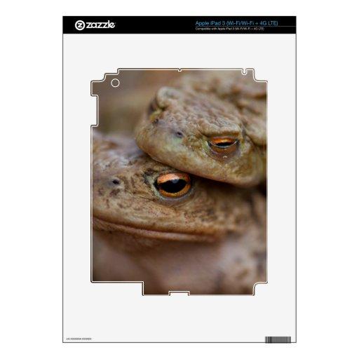 iPad 3 de los sapos (Wi-Fi/Wi-Fi + 4G LTE) Piel Pegatina Skin Para iPad 3
