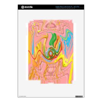 """iPad 3 del """"flujo Drippy"""" (Wi-Fi/Wi-Fi + 4G LTE) Pegatina Skin Para iPad 3"""