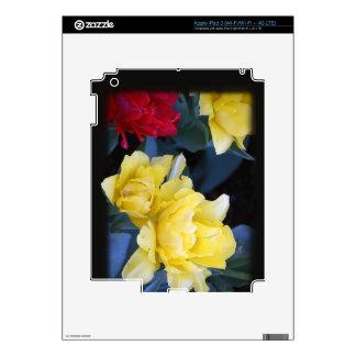 iPad 3 (Wi-Fi/Wi-Fi + 4G red_yellow_flowers iPad 3 Skin