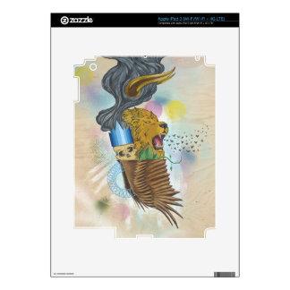 iPad 3rd Gen Skin - Custom art by Adam Reker Skins For iPad 3