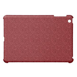 iPad abstracto agrietado rojo