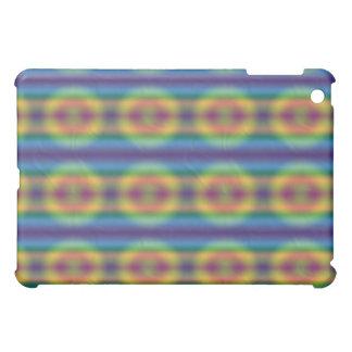 iPad abstracto de Tiedye del arco iris