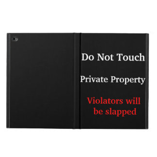 iPad Air 2 Case - Private Property Powis iPad Air 2 Case