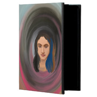iPad Air 2 Case With Hand Drawn Girl's Portrait