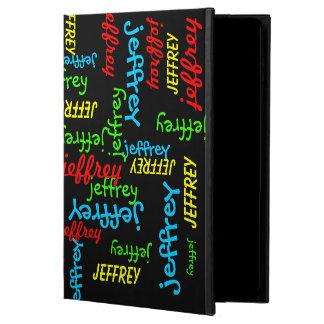 iPad Air 2 Folio Case, Repeating Names Powis iPad Air 2 Case