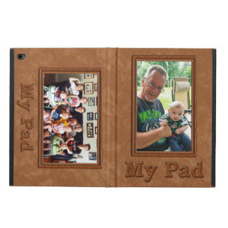 iPad Air 2 Photo Case with Your TWO Pictures Powis iPad Air 2 Case