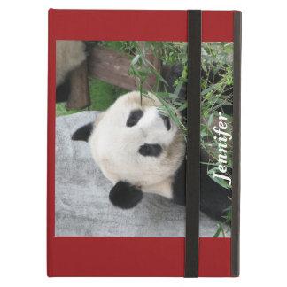 iPad Air Case, Panda, Red iPad Air Covers