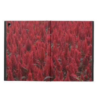 iPad Air Case - Red Flower Meadow