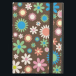 "iPad Air Case Retro Hippie Flowers<br><div class=""desc"">iPad Air Case with hippy floral pattern</div>"