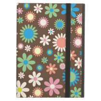 iPad Air Case Retro Hippie Flowers