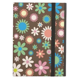 iPad Air Case Retro Hippie Flowers