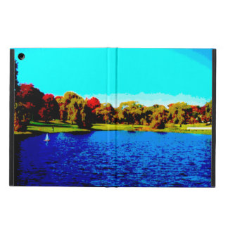 iPad Air case without kickstand, lake image