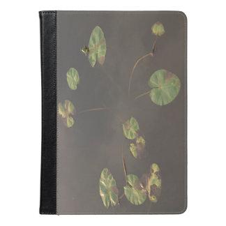 Ipad Air folio case waterlilies leaves