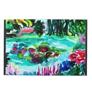 ipad air monets watergardens iPad air cover
