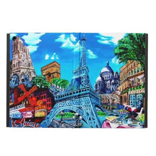 ipad Air París case