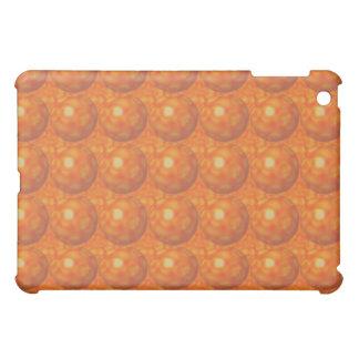 iPad anaranjado del círculo de la burbuja