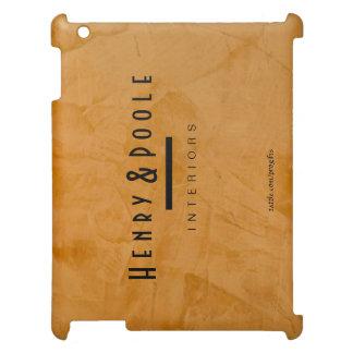 iPad anaranjado rústico con clase del interiorista