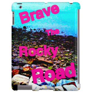 """iPad Barely There case """"Brave the Rocky Road"""""""