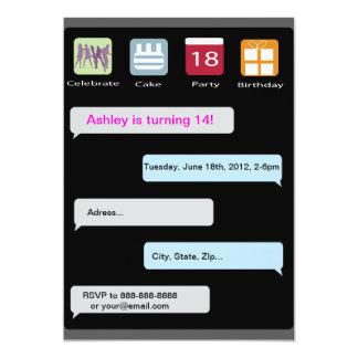 ipad birthday invitation