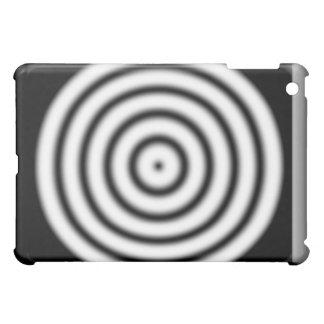 iPad blanco y negro de la diana de la blanco
