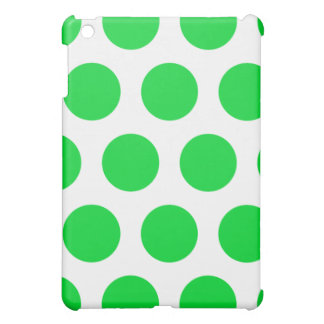 iPad blanco y verde del lunar mini iPad Mini Carcasas