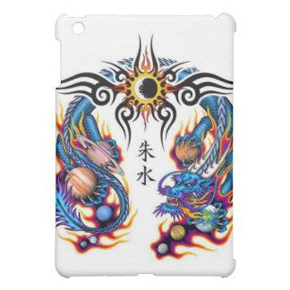 iPad-Blue-Dragon and the Solar System iPad Mini Cover