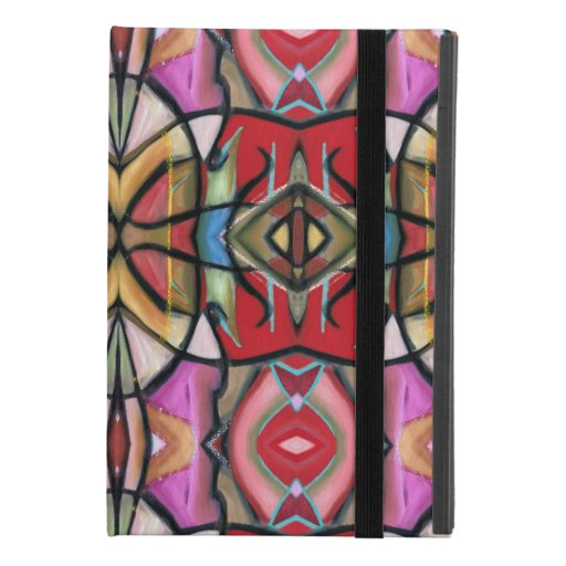 iPad Case, Abstract mirror image, WB Oil iPad Mini 4 Case