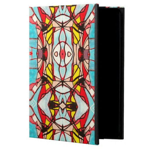 iPad Case, Abstract Psychedelic tr III Powis iPad Air 2 Case