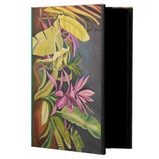 IPAD CASE Air2 & Kickstand Tropical Plants