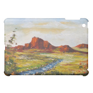 Ipad Case Ann Hayes Painting Red Rock Canyan