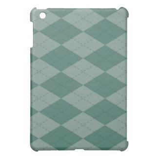 iPad Case - Argyle - SeaFoam