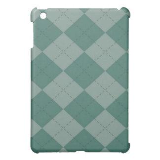 iPad Case - Argyle SQ - Seafoam