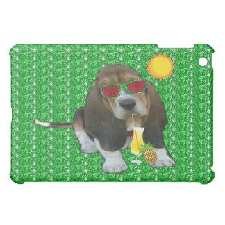 Ipad Case Baby Basset Hound Summer Time