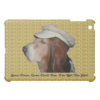 Ipad Case Basset Hound Been There, Done That
