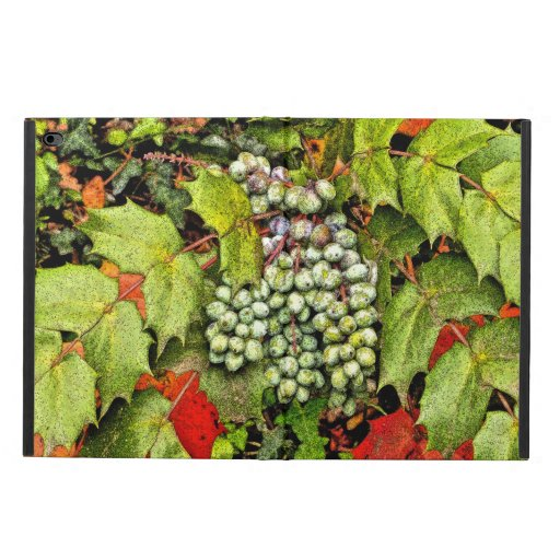 """IPAD CASE, """"BERRIES AND LEAVES"""" iPad Case"""