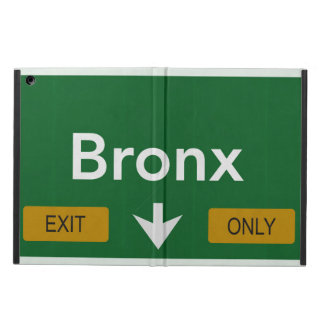 iPad case Bronx Highway Sign