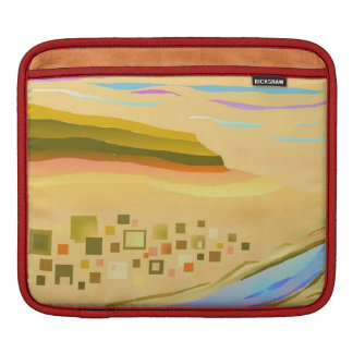 iPad Case Desert 1 Design Red Trim iPad Sleeve
